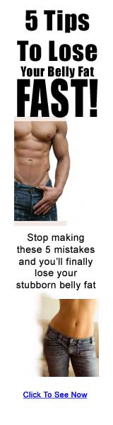 5 Tips To Lose Stomach Fat Review